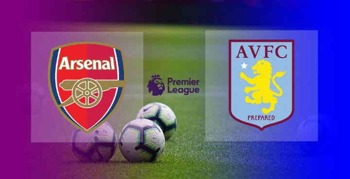 Hasil Arsenal vs Aston Villa