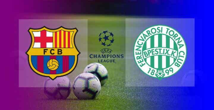 Hasil Barcelona vs Ferencvaros
