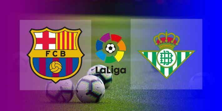 Hasil Barcelona vs Real Betis