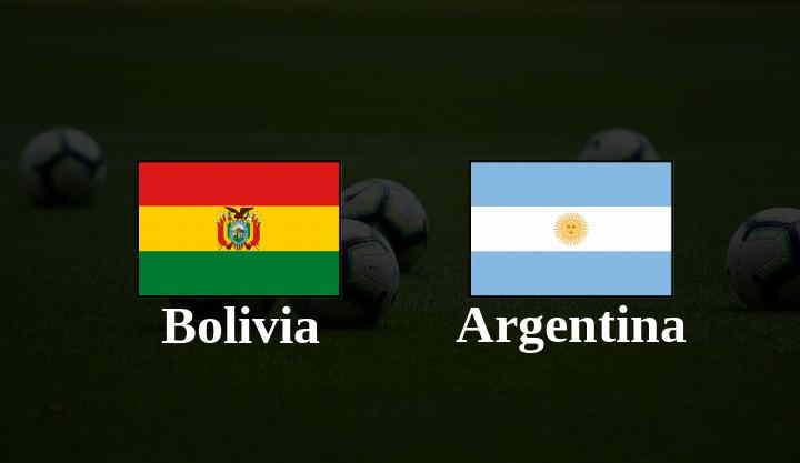 Hasil Bolivia vs Argentina