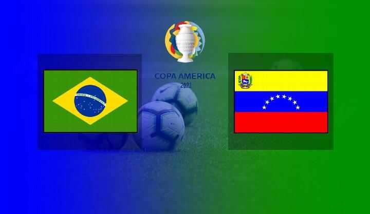 Hasil Brazil vs Venezuela