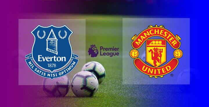 Hasil Everton vs Manchester United