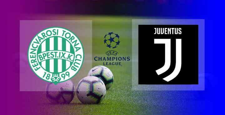 Hasil ferencvaros vs Juventus
