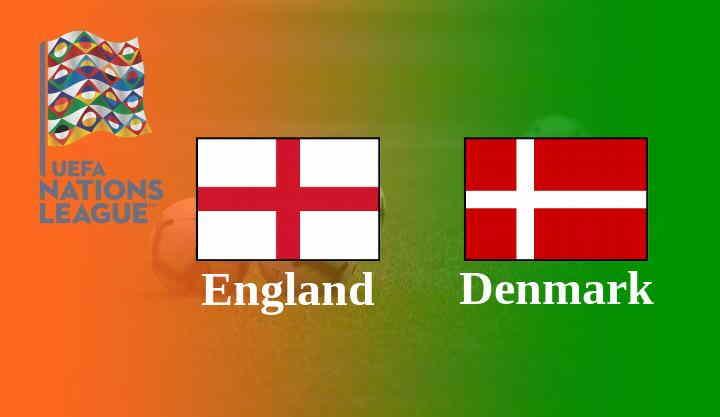 Inggris vs Denmark