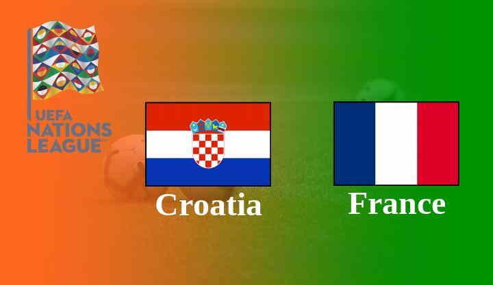 Kroasia vs Perancis