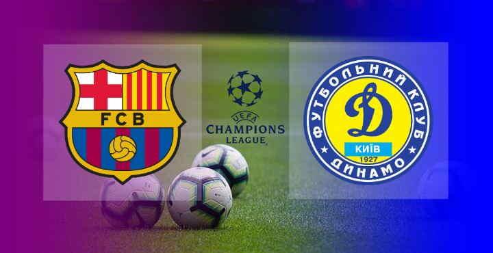 Hasil Barcelona vs Dynamo Kiyv