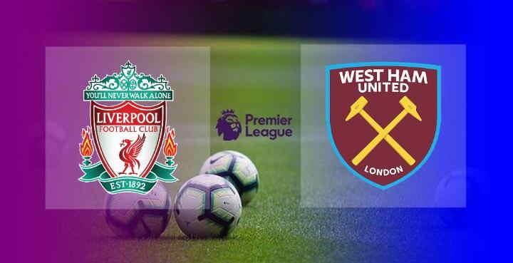 Hasil Liverpool vs West Ham