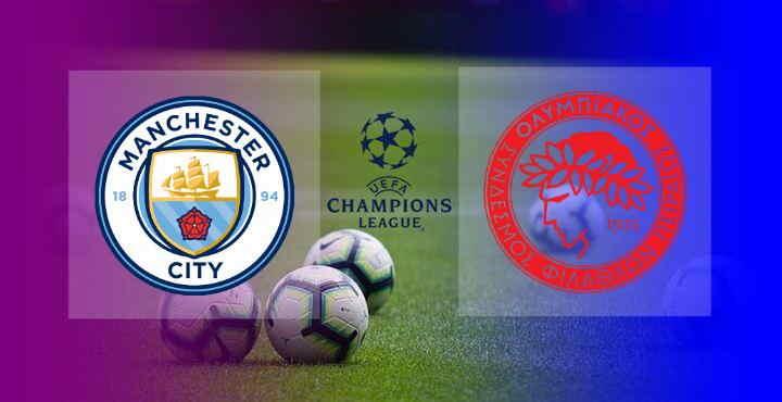 Hasil Manchester City vs Olympiakos