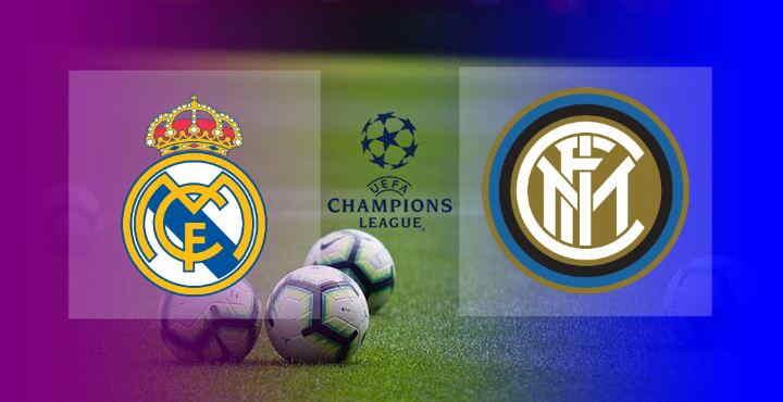 Hasil Real Madrid vs Inter Milan