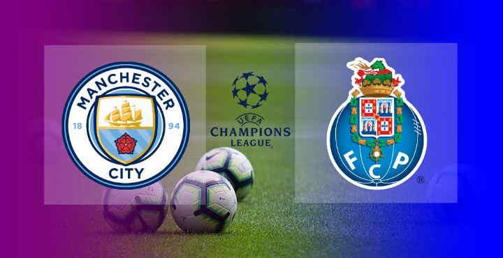 Hasil Manchester City vs FC Porto