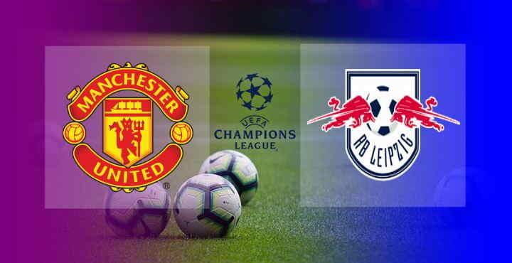 Hasil Manchester United vs RB Leipzig