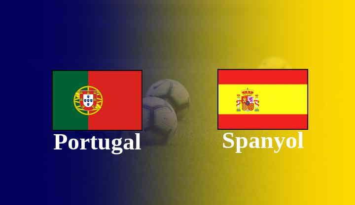 Hasil Spanyol vs Portugal