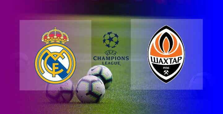 Hasil Real Madrid vs Shakhtar Donetsk
