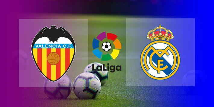 Live Streaming Valencia vs Real Madrid