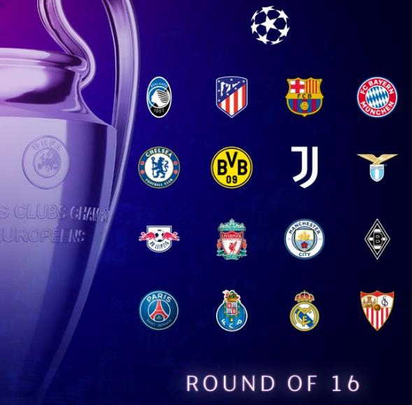 Tim 16 besar Liga Champions