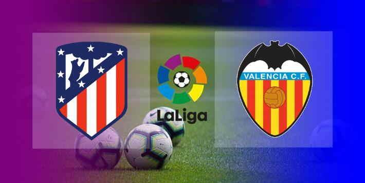 Hasil Atletico Madrid vs Valencia