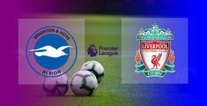Hasil Brighton vs Liverpool
