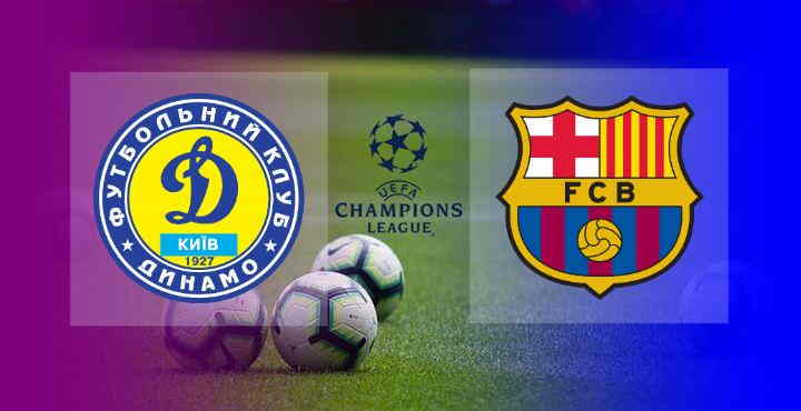 Hasil Dynamo Kyiv vs Barcelona