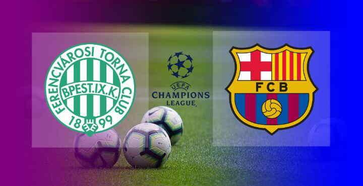 Hasil Ferencvaros vs Barcelona