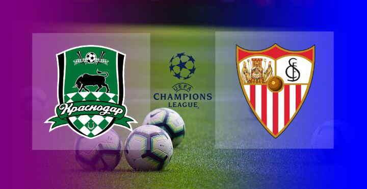 Hasil Krasnodar vs Sevilla