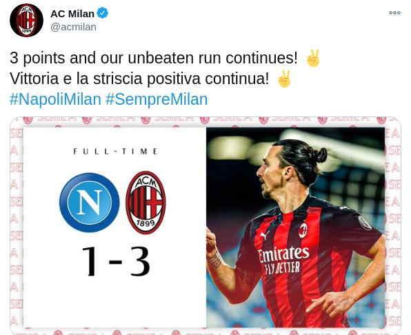Ibrahimovic Top Skor Serie A