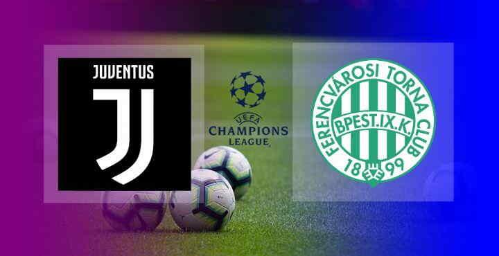 Hasil Juventus vs Ferencvaros