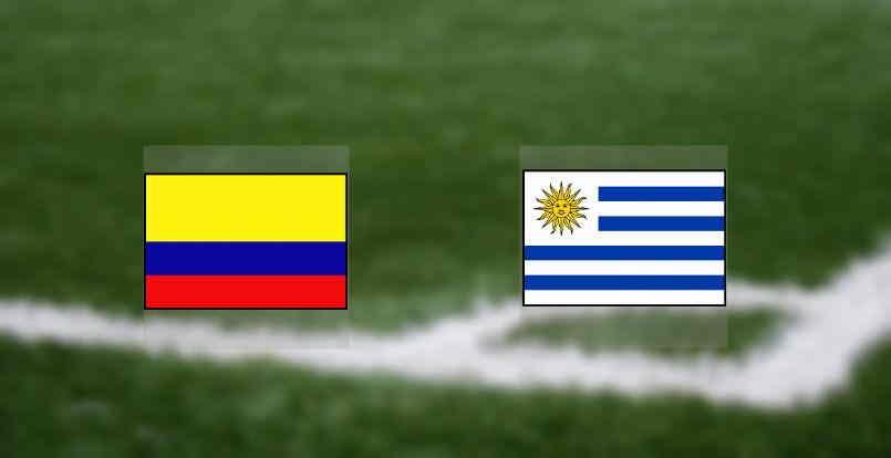 Hasil Kolombia vs Uruguay