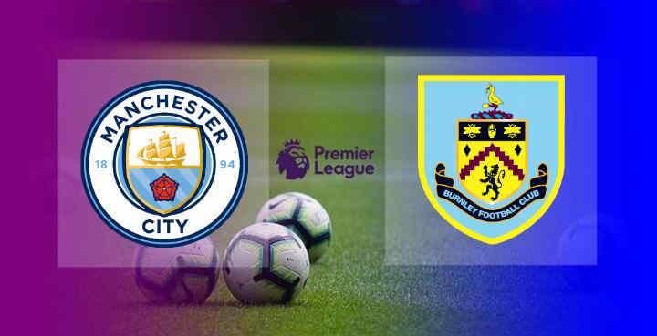 Hasil Manchester City vs Burnley