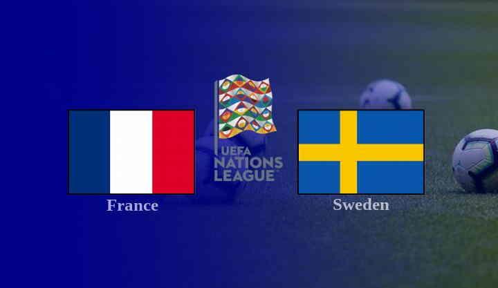 Hasil Perancis vs Swedia
