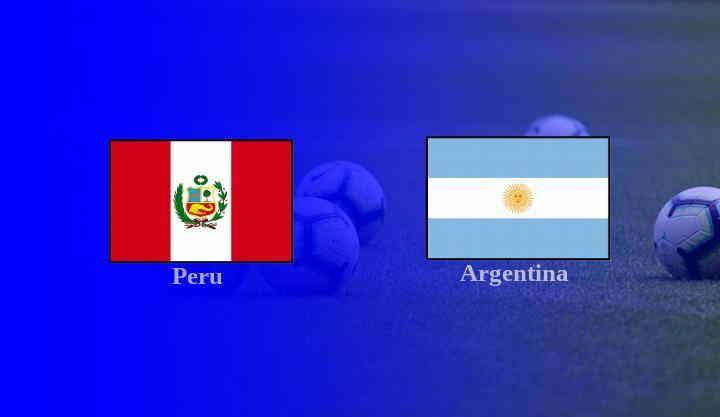 Hasil Peru vs Argentina