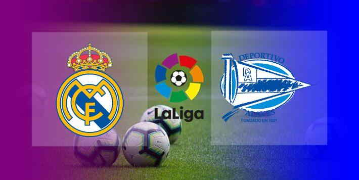 Hasil Real Madrid vs Alaves