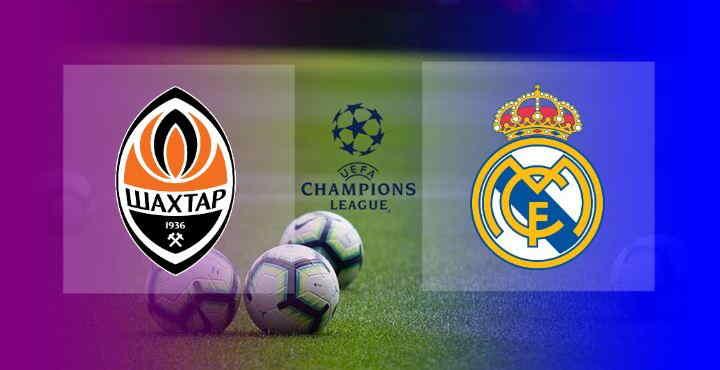 Hasil Shakhtar Donetsk vs Real Madrid