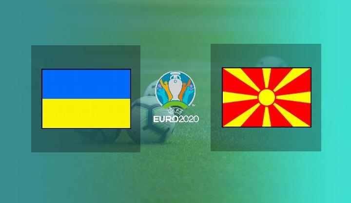 Hasil Ukraina vs Makedonia Utara