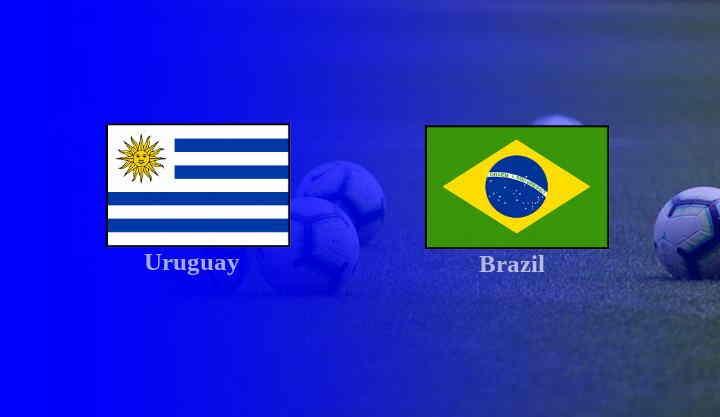 Hasil Uruguay vs Brasil