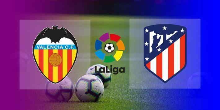 Hasil Valencia vs Atletico Madrid
