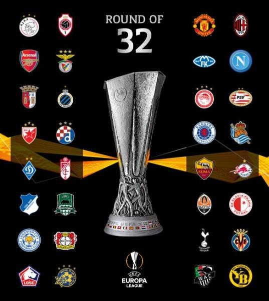 Daftar Tim 32 besar Liga Europa 2020/21
