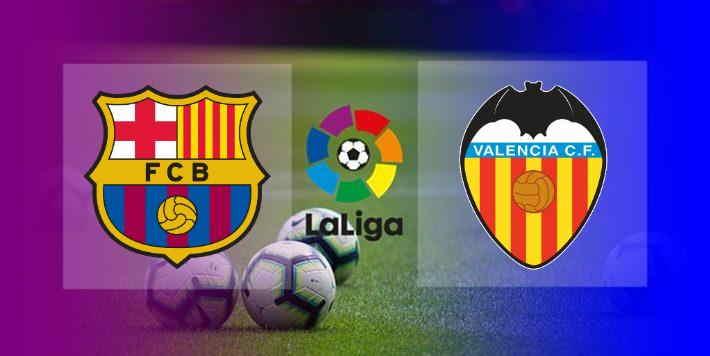 Hasil Barcelona vs Valencia Skor AKhir 3-1