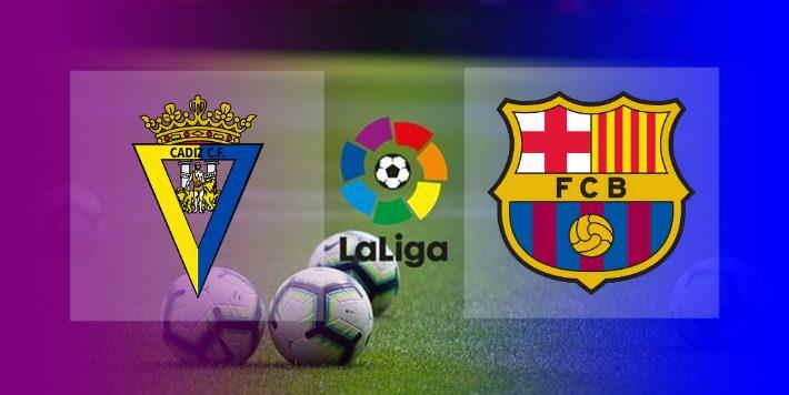 Live Streaming Cadiz vs Barcelona