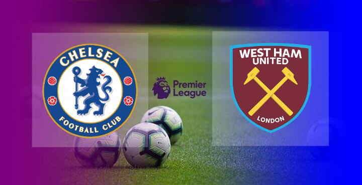 Hasil Chelsea vs West ham Skor akhir 3-0