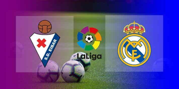 Hasil Eibar vs Real Madrid Skor Akhir 1-3
