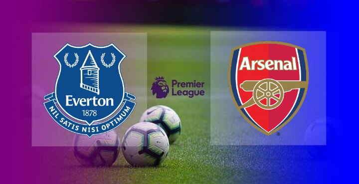 Hasil Everton vs Arsenal Tadi malam
