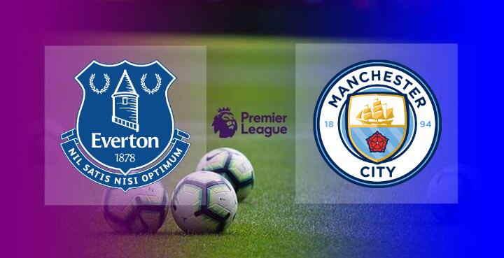 Hasil Everton vs Manchester City