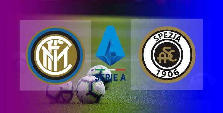Hasil Inter Milan vs Spezia Skor Akhir 2-1