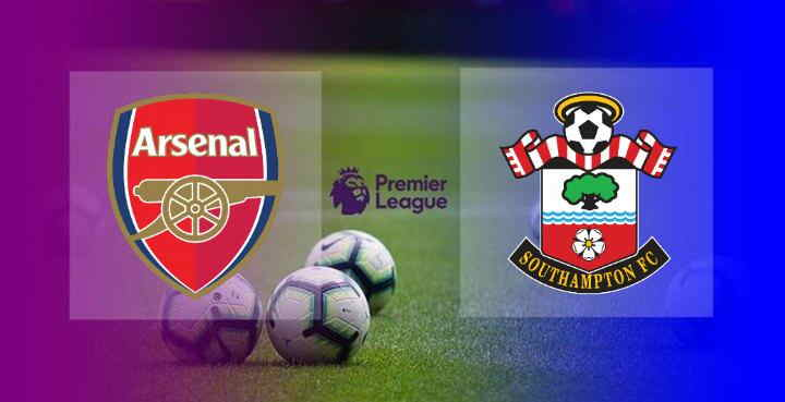 Hasil Arsenal vs Southampton