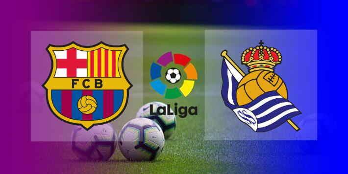 Hasil Barcelona vs Real Sociedad