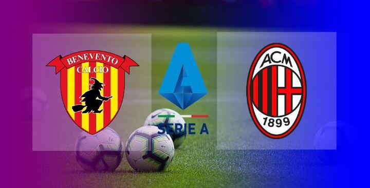 Live Streaming Benevento vs AC Milan