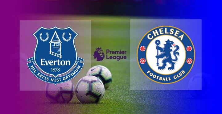 Hasil Everton vs Chelsea