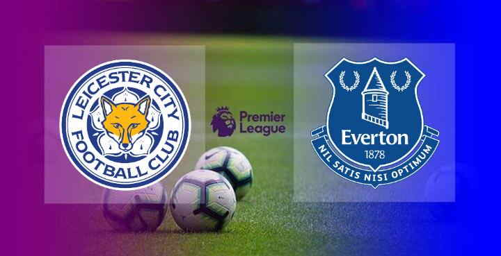 Hasil Leicester City vs Everton