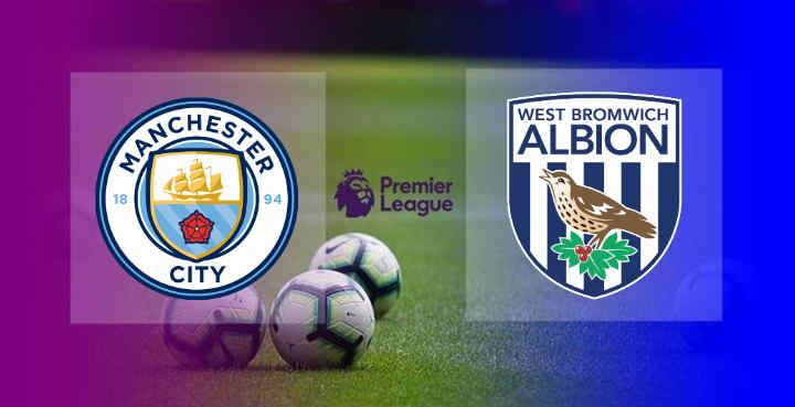 Hasil Manchester City vs West Brom