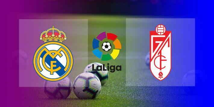 Hasil Real Madrid vs Granada Skor Akhir 2-0